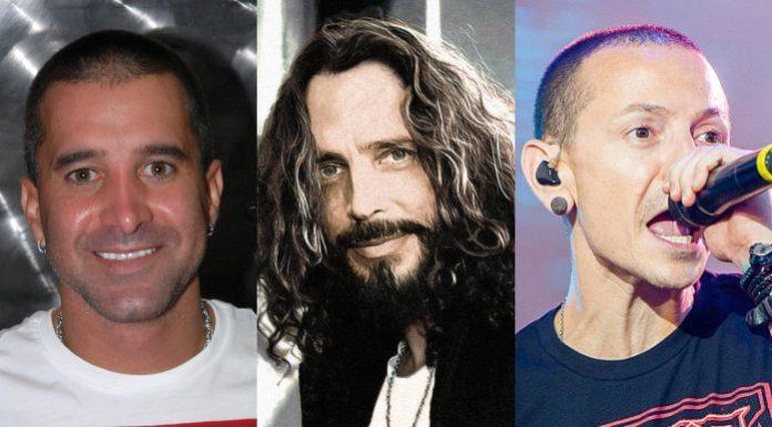 Scott Stapp, Chris Cornell e Chester Bennington(1)