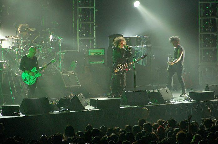 The Cure ao vivo