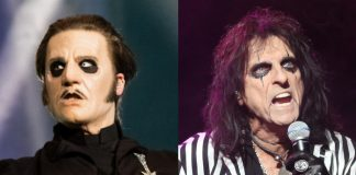 Tobias Forge (Ghost) e Alice Cooper