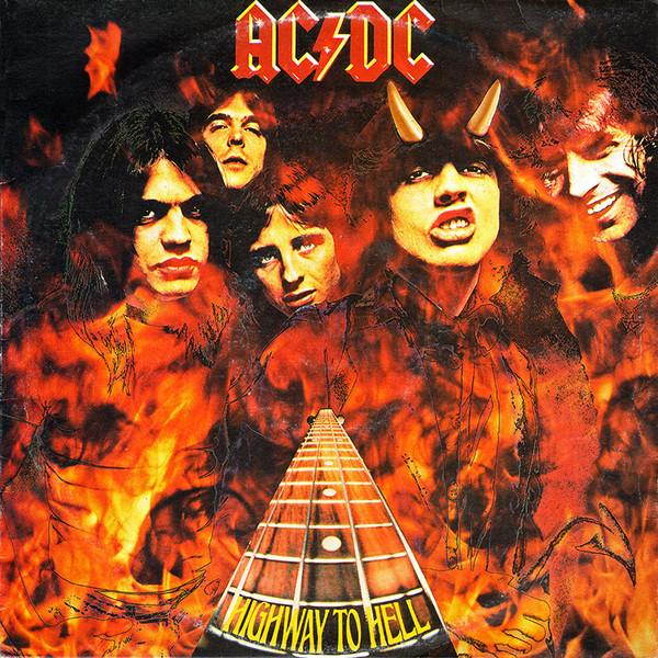 AC/DC - Highway To Hell (Capa australiana)