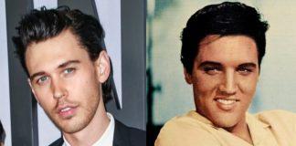 Austin Butler e Elvis Presley