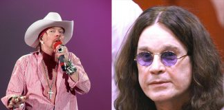 Axl Rose e Ozzy Osbourne