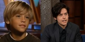 Cole Sprouse, o Ben de Friends