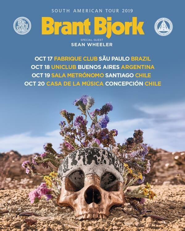 Brant Bjork em turnê pela América do Sul