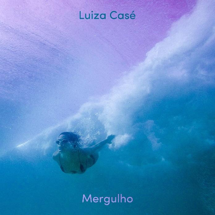 "Capa de ""Mergulho"" (Luiza Casé)"