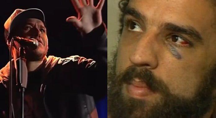 Chorão e Marcelo Camelo
