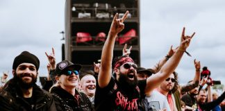 Fã de Slipknot no Download Festival 2019