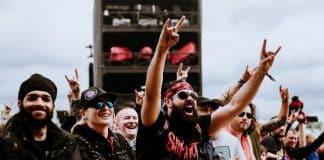 Fã de Slipknot no Download Festival 2019