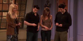 Última cena de Friends