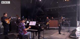 Jeff Goldblum no Glastonbury