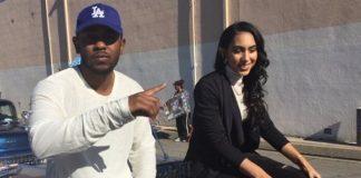 Kendrick Lamar e Whitney Alford