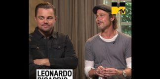 Leonardo DiCaprio e Brad Pitt