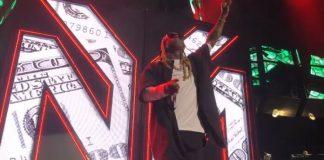 Lil Wayne abandona show com o blink-182
