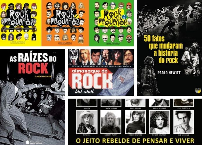Livros sobre Rock And Roll