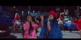 Lizzo e Missy Elliott no clipe de Tempo