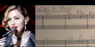 Demo de Like a Prayer, da Madonna