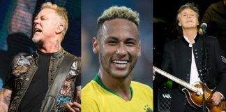 Metallica, Neymar e Paul McCartney
