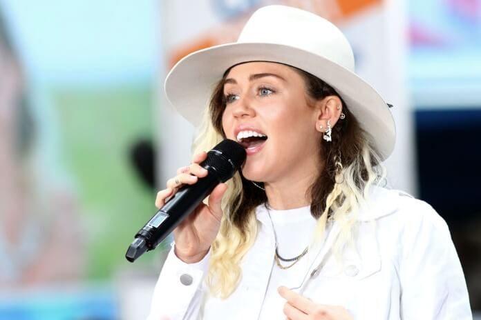 Miley Cyrus em 2017