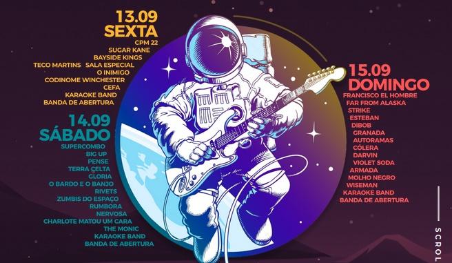 Oxigênio Festival 2019 - Line-up por dia