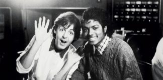 Paul McCartney e Michael Jackson