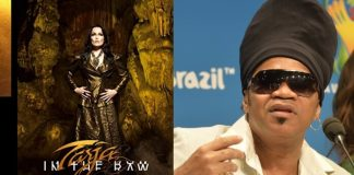 Tarja e Carlinhos Brown