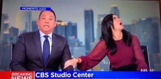 Terremoto atinge estúdio