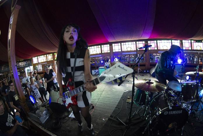 The Courettes no Azkena Rock Festival