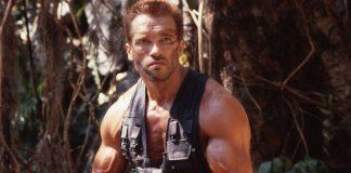 Arnold Schwarzenegger em ação nos anos 80