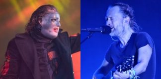 Corey Taylor (Slipknot) e Thom Yorke (Radiohead)