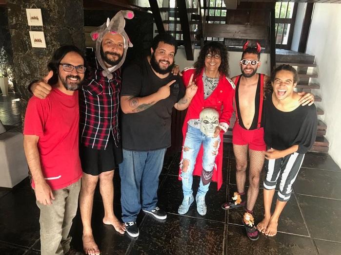 Dona Iracema, André T e Luiz Caldas