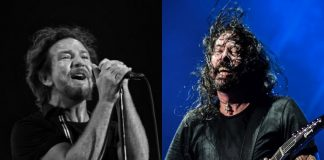Eddie Vedder (Pearl Jam) e Dave Grohl (Foo Fighters)