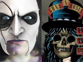 Filtro Facebook Slipknot e Guns N' Roses