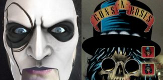 Filtro Facebook Slipknot e Guns N' Roses