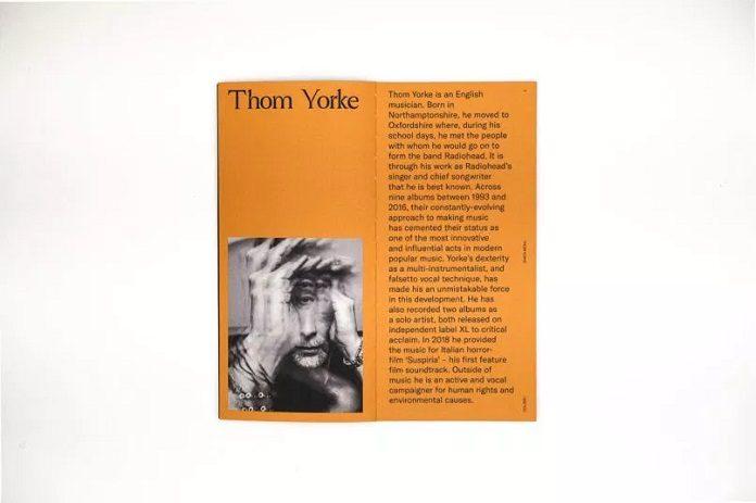 I See You Zine Thom Yorke 2