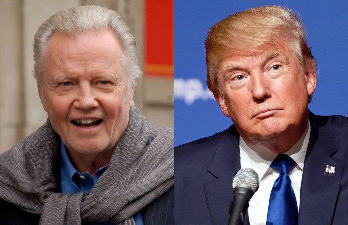 Jon Voight e Donald Trump