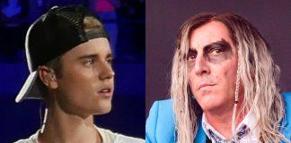 Justin Bieber e Maynard James Keenan (Tool)