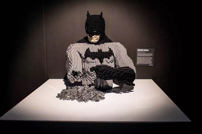 LEGO exposição DC Batman
