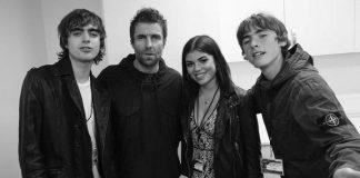 Liam Gallagher e filhos