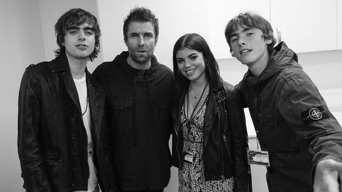 Liam Gallagher e filhos