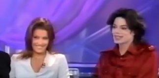 Lisa Marie Presley e Michael Jackson