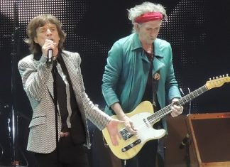 Mick Jagger e Keith Richards (Rolling Stones)