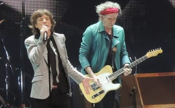 Mick Jagger e Keith Richards (The Rolling Stones)