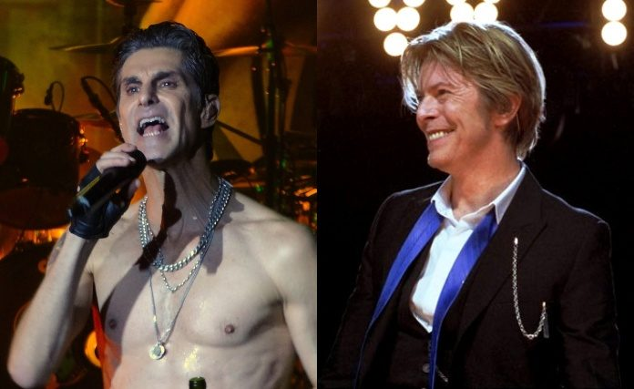 Perry Farrell e David Bowie