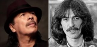 Santana e George Harrison (Beatles)