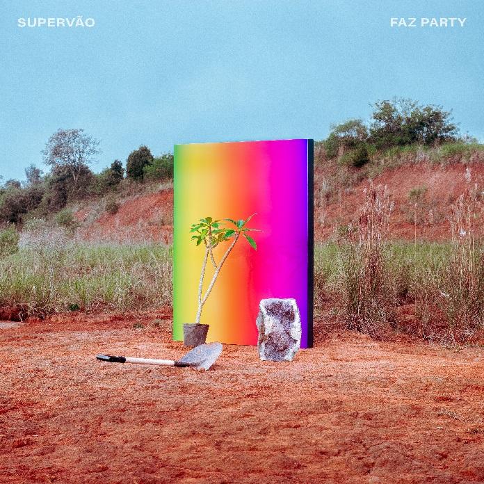 """Capa de """"Faz Party"""" (Supervão)"""
