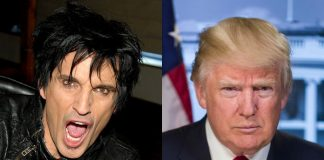 Tommy Lee e Donald Trump