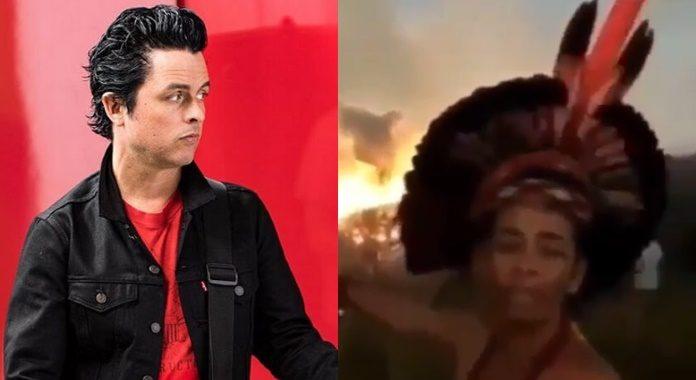 Billie Joe publica vídeo de queimadas no Brasil