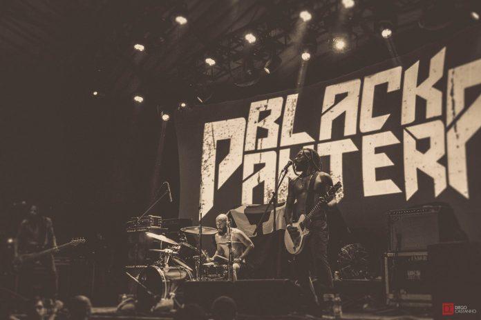 Black Pantera no Circo Voador
