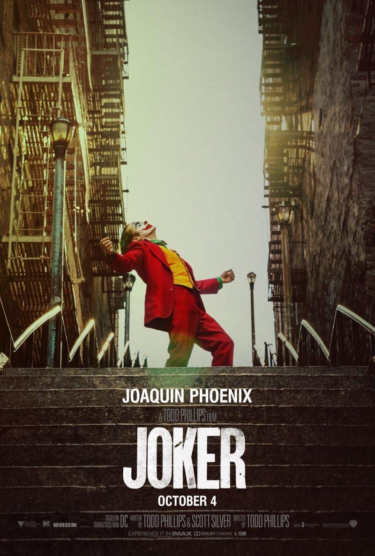 Pôster de Coringa, com Joaquin Phoenix