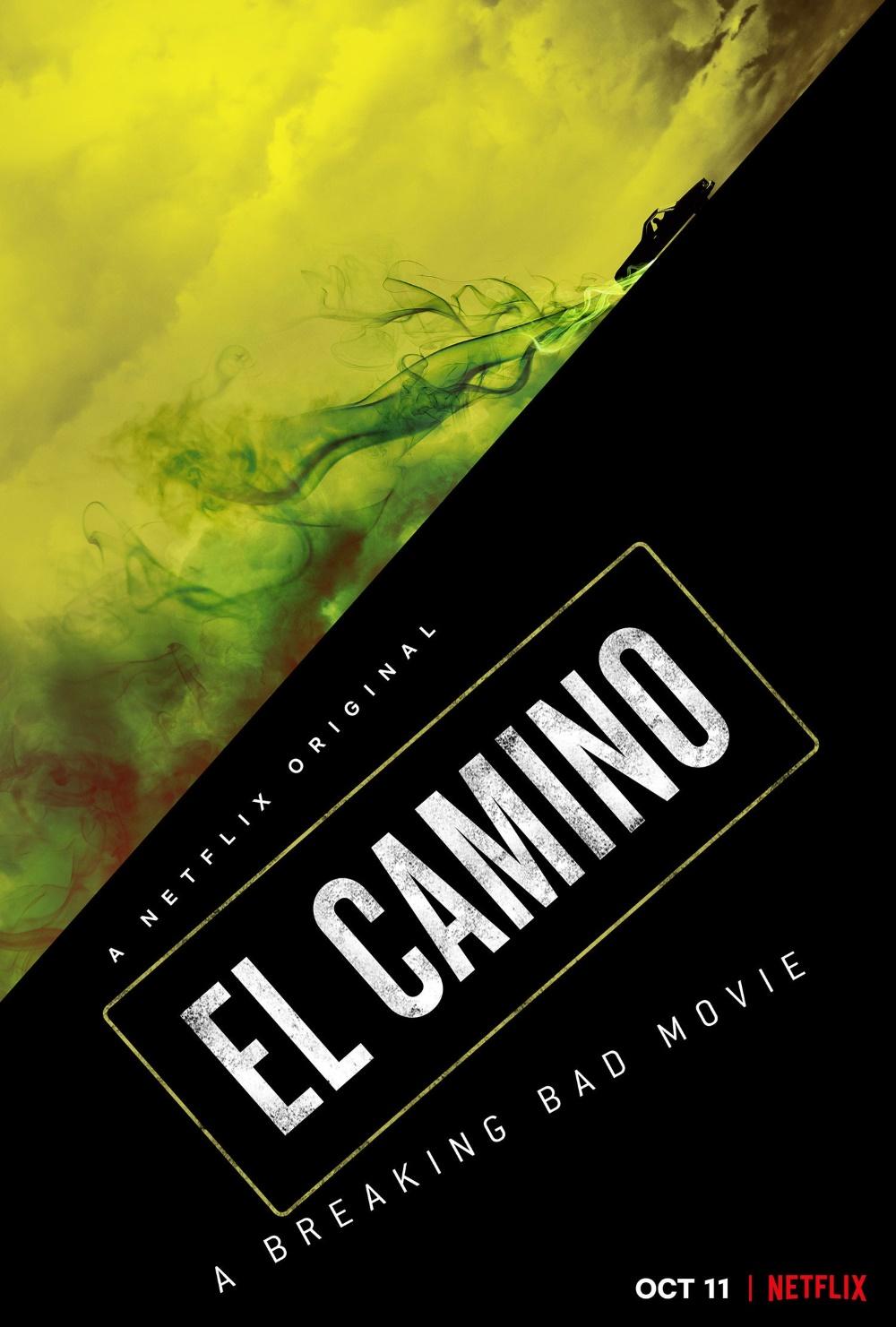 El Camino - cartaz do filme de Breaking Bad